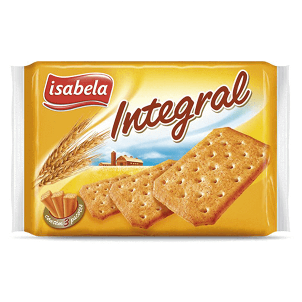 Bolacha Cracker Integral
