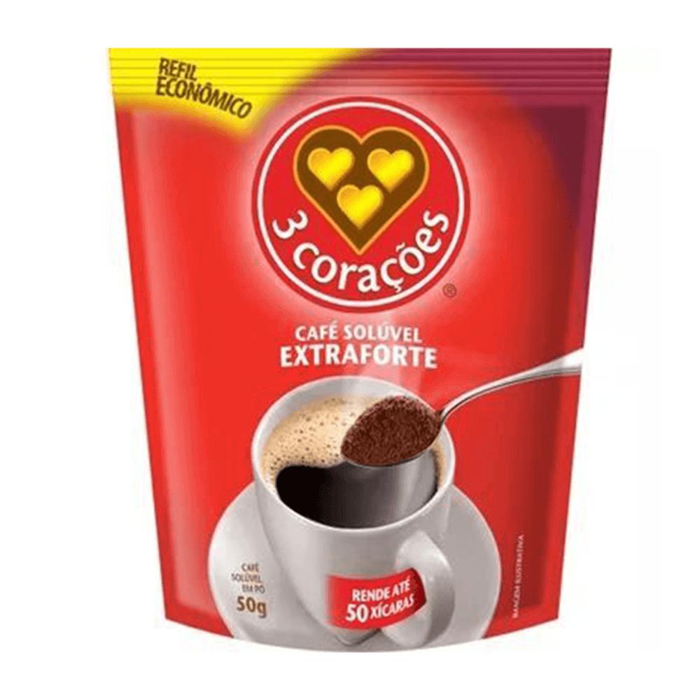 Café Solúvel Extra Forte Sachê