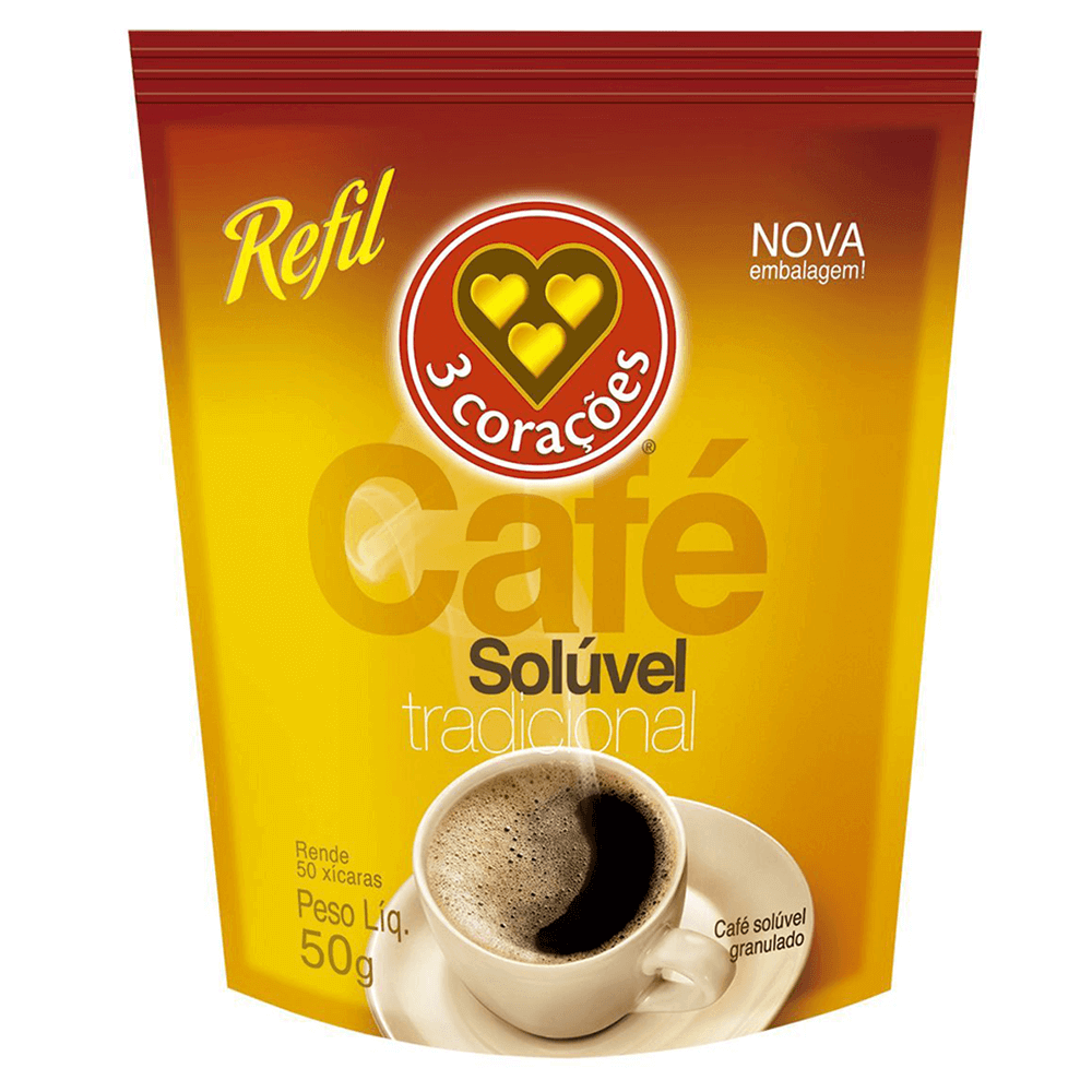 Café Solúvel Tradicional Sachê