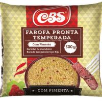 Farofa CBS com Pimenta 500g