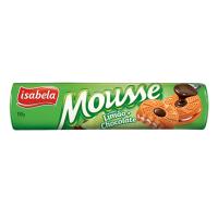 Mousse Sabor Limão com Chocolate